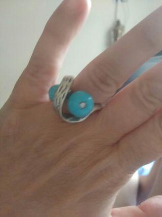 anillo antiguo bisuteria buena