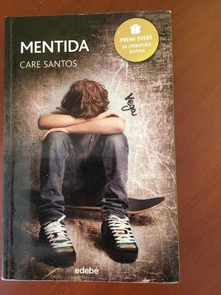 Mentida libro literatura juvenil