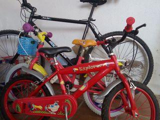 3 bicicletas en buen estado