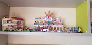 Centro comercial y casa de Lego Friends