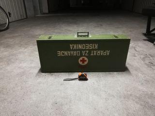 maleta sanitaria guerra de Bosnia