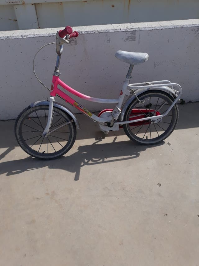 vendo bicicleta pekeña solo areglar frenos