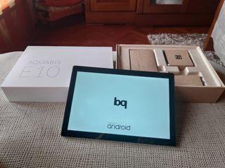 Tablet BQ Aquaris E10 + Funda