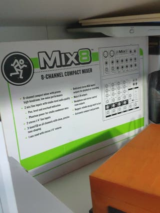 mesa de mezclas nueva