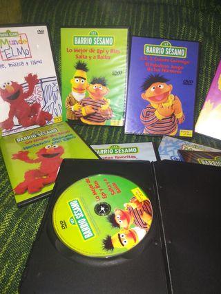lote de 9 DVD