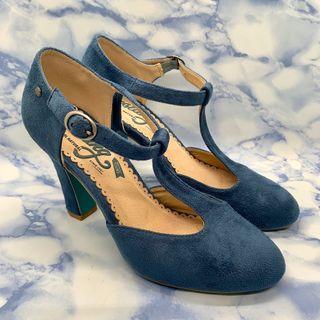 Zapatos de tacón azules de segunda mano en Getxo en WALLAPOP