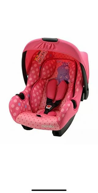 Asiento de coche para bebe, grupo 0 + NUEVO