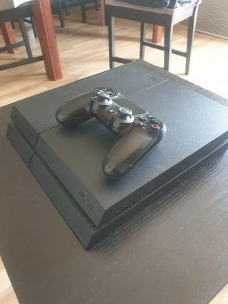 PS4 1 TB + MANDO + MOCHILA