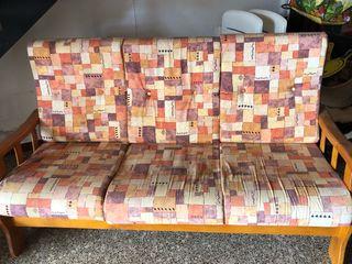 Sofa 3 plazas + 2 sillones