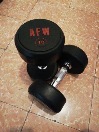 AFW Pro Mancuernas 10kgs