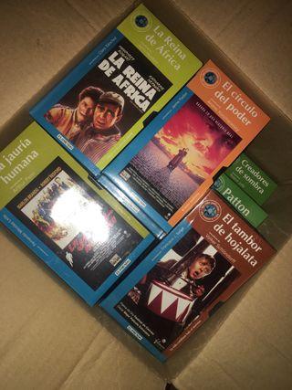 Colección 100 películas en cinta de vídeo VHS