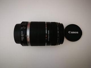Objetivo Camara Cannon 55-250