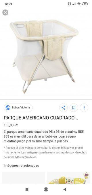 parque americano cuadrado box
