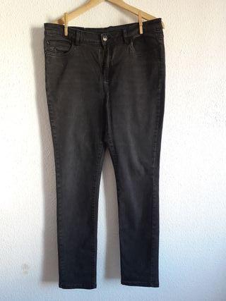 pantalón vaquero jeans negro Esmara t 46 skinny