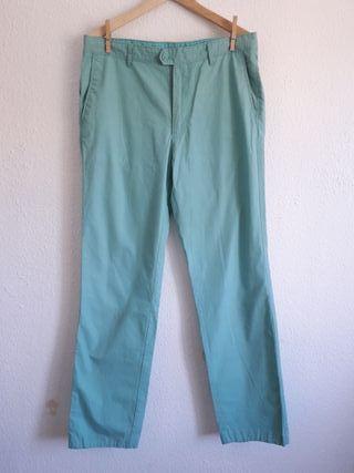 Pantalón ligero Cortefiel t 42 recto amplio