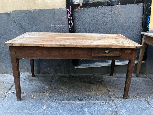 Mesa rústica cocina francesa de segunda mano por 499 € en Madrid en ...