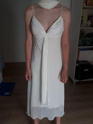 Vestido boda civil o fiesta talla 40
