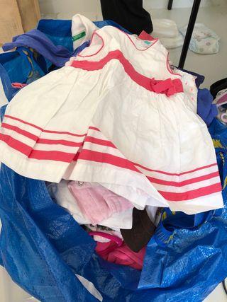 Regalo lote de ropa de bebé niña
