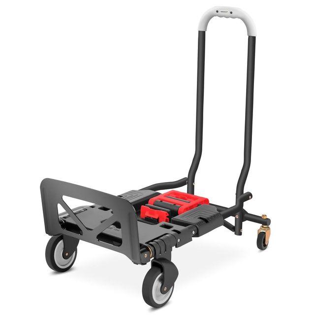 Carretilla de mano plegable 4 ruedas 120 kg plegab