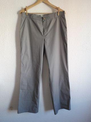 Pantalón gris Guess t 44 (cintura 31'') recto