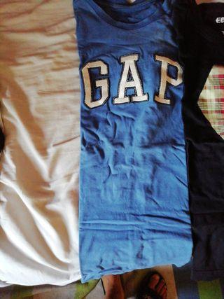 lote camisetas gap y etnies talla (S)