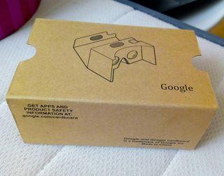 Gafas de realidad virtual Google