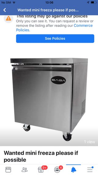 Looking to buy under counter freezer