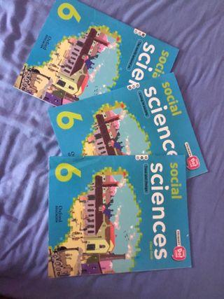 Libros de 6 de primaria sociales