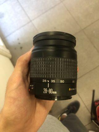 Objetivo Canon 28-80