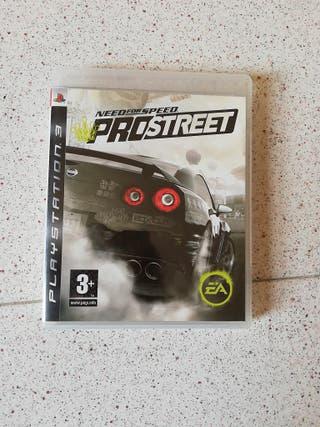 juego ps3 need for speed prostreet