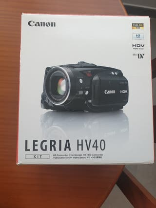 Cámara video Canon Legria HV40