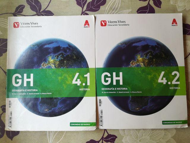 libro de texto de 4 ESO