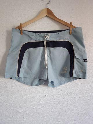 Pantalón corto shorts surf Ocean Pacific UK t 42