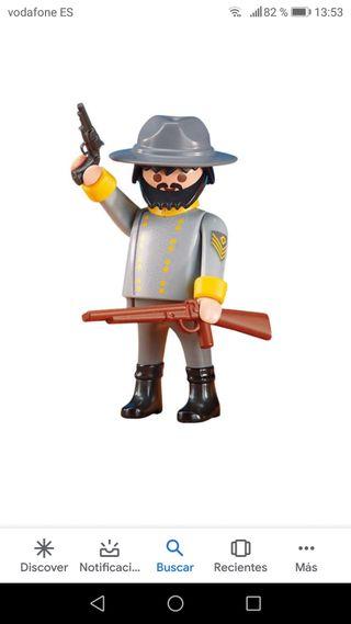 oficial confederado Playmobil