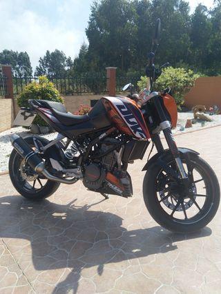 KTM DUKE 125 2014 ABS