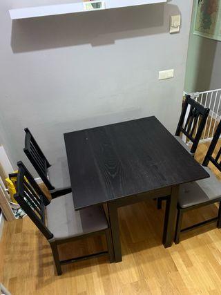 Sillas de comedor Ikea de segunda mano en Madrid en WALLAPOP