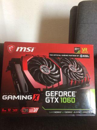 Tarjeta gráfica MSI GeForce gtx 1060