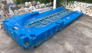 Plataforma moto de agua