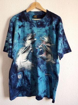 NUEVA camiseta delfines de Australia t L (44)