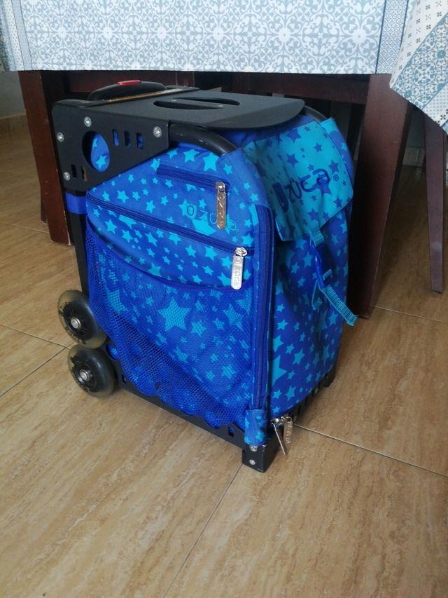 maleta para patines zuca