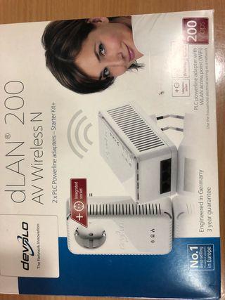 Repetidor wifi Devolo 200Mb