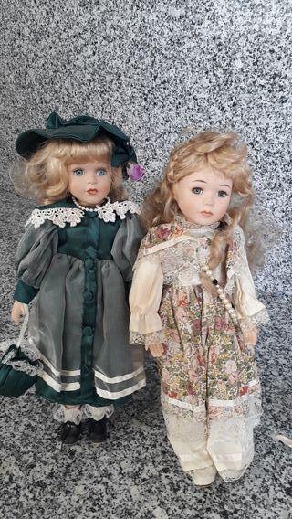 Muñeca porcelana / cerámica / resina