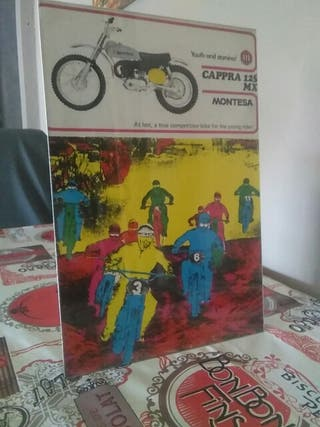 publicidad Montesa cappra 125 mx