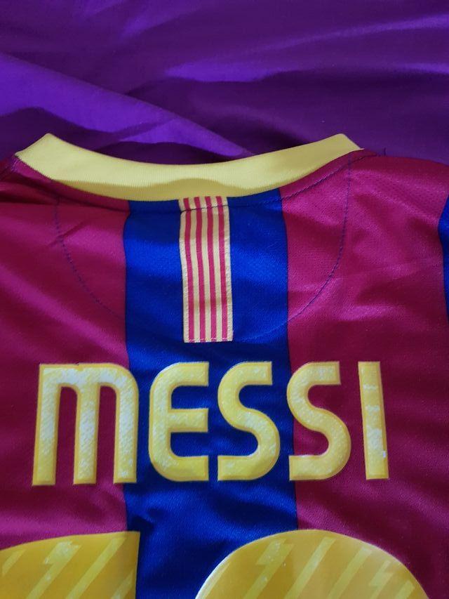 Camiseta Barcelona Barça Messi 2010 2011