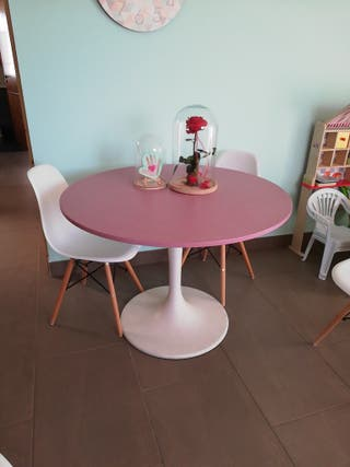 mesa comedor restaurada