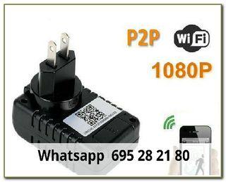 atsd Videocamara ip wifi cargador de enchufe