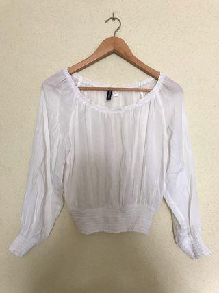 Blusa H&M blanca