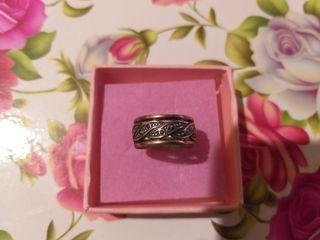 alianza anillo plata
