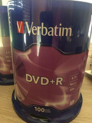 BOBINA VERBATIM DVD +R