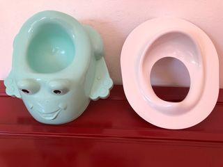 Reductor+asiento baño niño